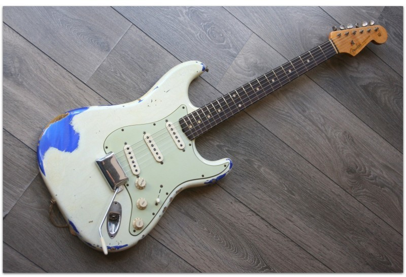 ´60 Strat Heavy Relic Custom Shop