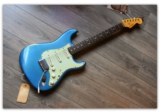 1960 Strat Relic Lake Placid Blue
