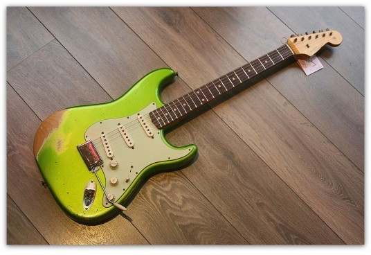 Heavy Relic ´62 Strat Lime Green