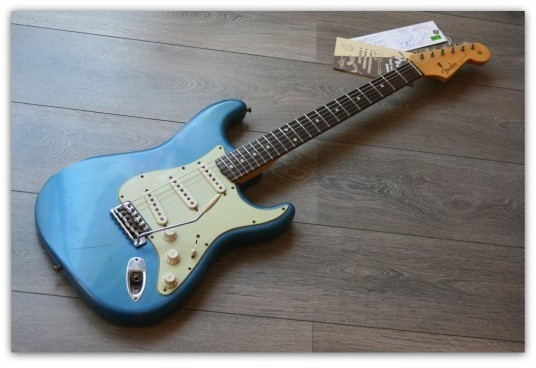1960 Stratocaster Relic Lake Placid Blue